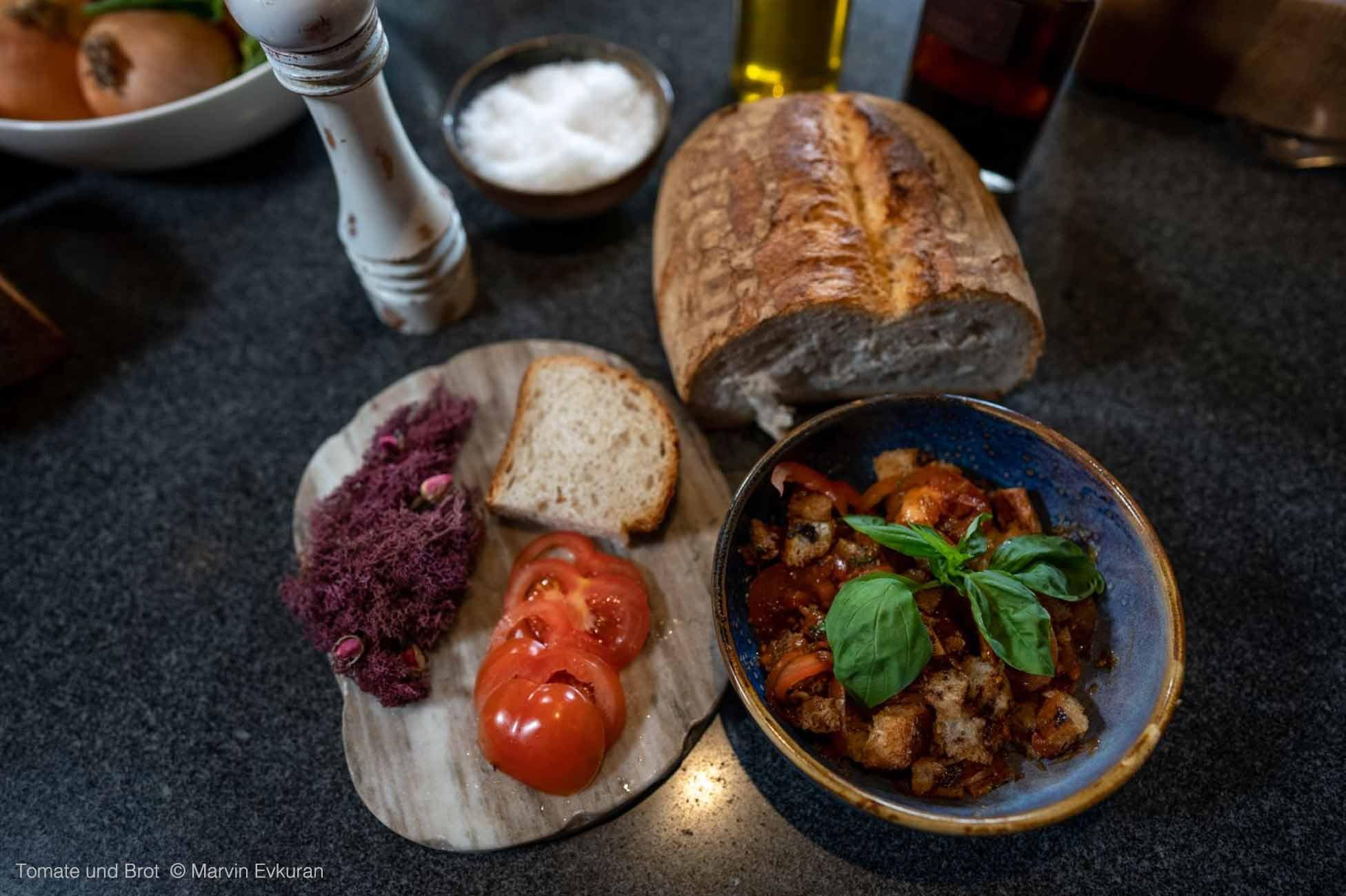 Tomate und Brot, ein Power Paar