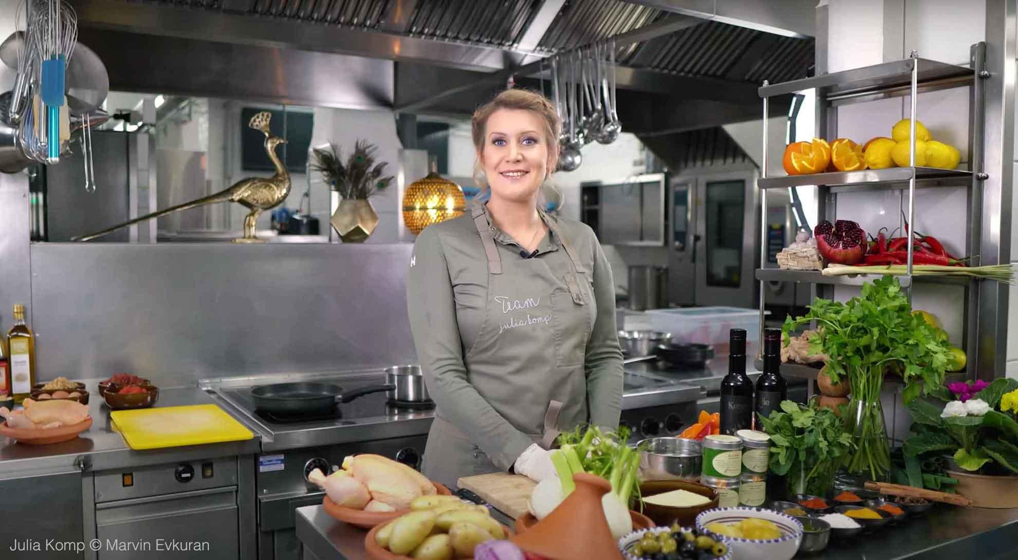 "Kochshow ""Handwerk kocht"" mit Julia Komp, Folge 18"